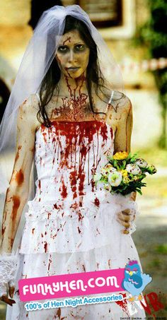 OK who can do better than this for the BTB on a #Halloween #Hendo ? zombie bride The Living Dead #Zombie
