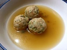 Greg's matzo ball recipe - courtesy of his grandmother, kind of...