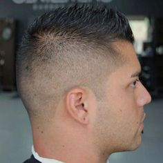 Short Faux Hawk Fade