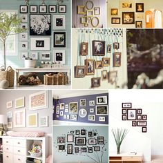 Hanging your photos - different ways.