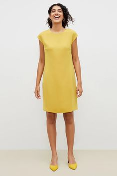 Shift Dress Outfit, Dress Skirt, Dress Outfits, Fashion Outfits, Women's Fashion, Shirt Dress, Work Dresses For Women, Nice Dresses, Summer Dresses