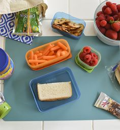 How to create a kid-friendly lunch making area in your home. I love having my kids pack their own lunches. They seem to eat more when they decide what to put in. Click through to read all my tips! #InspiredGathering #ad
