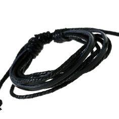 Leisure Hand Woven Leather Bracelet