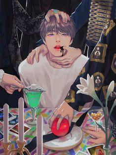 """연민의시대 on Twitter: """"피땀 x Awake… """" Jimin Fanart, Vkook Fanart, Bts Chibi, Foto Bts, Bts Photo, Kpop Drawings, Wattpad, Fanarts Anime, Fan Art"""