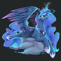 Princess Luna by Santagiera.deviantart.com on @deviantART