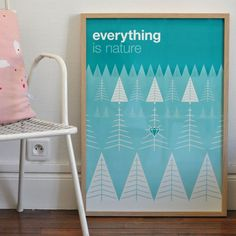 Affiche Everything is nature