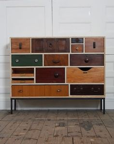 Rupert Blanchard. London, designer & maker of reclaimed furniture http://www.stylingandsalvage.com/p/projects.html