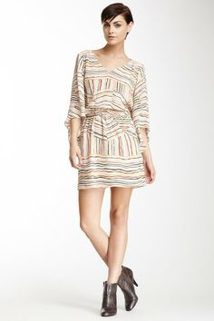 Waverly Grey Printed Silk Dress by Non Specific on @HauteLook