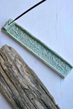 batik incense burner by earthformsbymarie on Etsy, $18.00