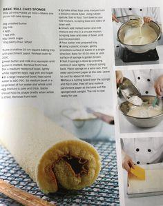 Basic Roll Cake Sponge