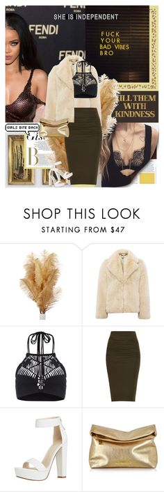 """Mouth full of gold"" by aliicia21 ❤ liked on Polyvore featuring Whistles, Mikoh, Michael Kors and country"