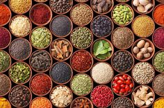Middle eastern cooking is all about the spices! Here are 9 Mediterranean herbs and spices you MUST add to your pantry! Spice Blends, Spice Mixes, Mediterranean Spices, Aquafaba, Spices And Herbs, Natural Herbs, Kraut, Spice Things Up, Indian Food Recipes