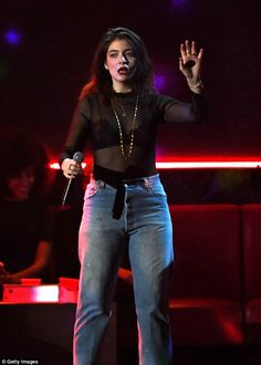 More Melodrama: Lorde performed her hit single Green Light off her upcoming album, which hits on June 16, at the Billboard Music Awards