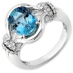 Frederic Sage Aquamarine Ring