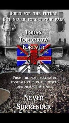 Rangers Football, Rangers Fc, Football Art, Tomorrow Forever, Remembrance Day, Northern Ireland, Glasgow, Flute, Bands