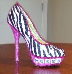Zebra Diva 2013 (Confessions of a glitter addict: 2013 Shoes - The Complete Set)