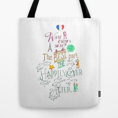 The Happily Ever After Tote Bag by The Art of Young Adult - $22.00