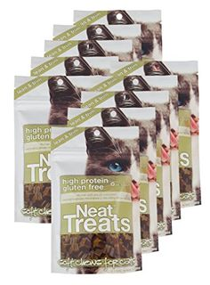Vet One 840235138235 1035 oz Resealable Neat Treats Soft Chews for Cats -- Learn more by visiting the image link.(This is an Amazon affiliate link and I receive a commission for the sales)