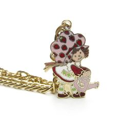 Strawberry Shortcake with a Watering Can Charm Bracelet