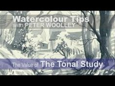 A Sketch A Day: Woodland Walk - Sketching Demonstration by PETER WOOLLEY - YouTube