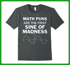 Mens Funny Pun Math Teacher Calculus Gift Joke T-shirt Small Dark Heather - Math science and geek shirts (*Amazon Partner-Link)