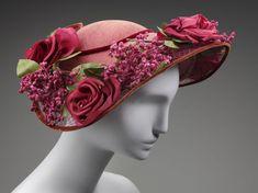 ~Woman's hat, 1945—1955, Flo-Raye~