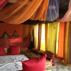 Bedouin tent in the Negev desert