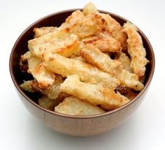 Table for 2.... or more: Oven Baked Garlic Fries
