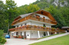 Our holiday apartments are located in a peaceful, scenic area in the beautiful Zavrsnica Valley on the edge of Zirovnica, just 9 km from the famous Lake Bled and 30 minutes drive from Ljubljana International Airport.