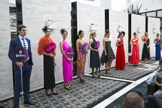 Models showcasing the latest #Racing #fashions from #ClaremontQuarter including #ParkerandCo @sabastyle @thomassabo @manningcartell #Willow #Portmans #ForeverNew @alannahhillshop @carlazampatti #BestyledatCQ #MelbourneCup
