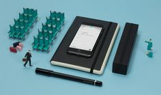 Italian stationery brand Moleskine has added to its collection of smart products with a planner that digitises handwritten notes.