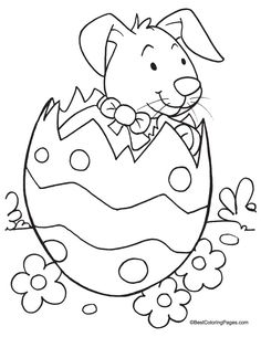 Easter Coloring Pages   Easter coloring page 1