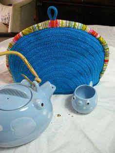 tea cozy :)) by rosaechocolat, via Flickr