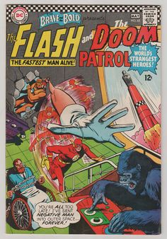 Brave and the Bold V1 65.  VF.  May 1966.  DC by RubbersuitStudios #flash #comicbooks