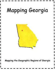 1000 images about georgia on pinterest georgia habitats georgia regions and social studies. Black Bedroom Furniture Sets. Home Design Ideas