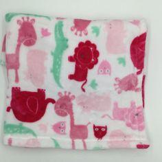 Baby Starters Pink White Giraffe Elephant Lion Blanket Green Alligator Owl Hippo #BabyStarters Giraffe, Elephant, Round Rock, Blue Blanket, Jungle Animals, Baby Blankets, Wonderful Things, Free Items, Starters