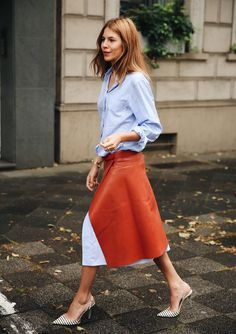 Style Inspiration: NYFW & Chic Style: The Simply Luxurious Life waysify Casual Look, Look Chic, Casual Chic, Fall Fashion Trends, Autumn Fashion, Fall Trends, Summer Trends, Leila Yavari, Style Baby
