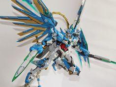 GUNDAM GUY: GUNDAM GUY: READERS FEATURE GUNPLA BUILD - MG 1/100 Divine Quanta by Fachrudin S. Arek Gundam Surabaya