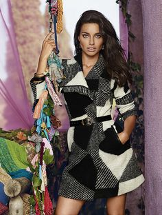 Lima adriana for desigual fall campaign new photo