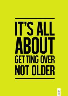superar. não envelhecer.