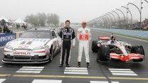Lewis Hamilton drives Tony Stewart's NASCAR at Watkins Glen   F1 ...