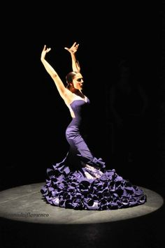 Alba Heredia. Encuentros Flamencos 2013. Teatro Isabel la Católica