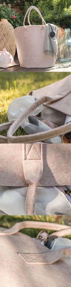 Bolsos de fieltro - Bolsos de tela