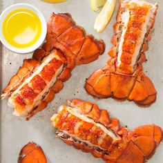 Broiled Lobster Tail Recipe -Wondering how to make lobster tail? This recipe is for you! No matter where you live, these succulent, buttery lobster tails are just a few minutes away. Here in Wisconsin, we use frozen lobster with delicious results, but if you're near the ocean, use fresh! —Lauren Knoelke, Milwaukee, Wisconsin