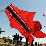 When the wind blows, size really does matter in Bali. The Balinese are crazy about kites