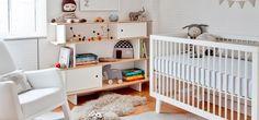 Pokojík pro miminko v přírodních barvách
