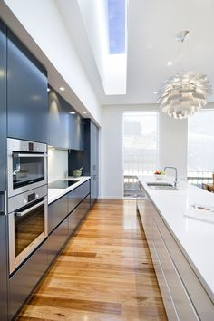 Kitchens - Sherbrooke Design and Construction Home Design Decor, Design Interiors, Home Interior Design, House Design, Home Decor, Small Villa, Melbourne House, Roof Light, Skylights