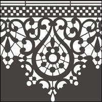 Шаблоны для кружевной росписи и примеры работ. Обсуждение на LiveInternet - Российский Сервис Онлайн-Дневников