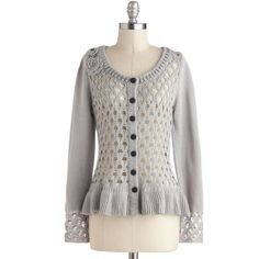 Nick & Mo Every Single Detail Cardigan ($65) ❤ liked on Polyvore