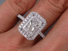 """Acquire fantastic suggestions on """"diamond engagement rings oval"""". They are actually accessible for you on our web site. Radient Engagement Rings, Engagement Solitaire, Radiant Cut Engagement Rings, Vintage Gold Engagement Rings, Engagement Ring Buying Guide, Beautiful Engagement Rings, Solitaire Rings, Wedding Engagement, Oval Rings"""